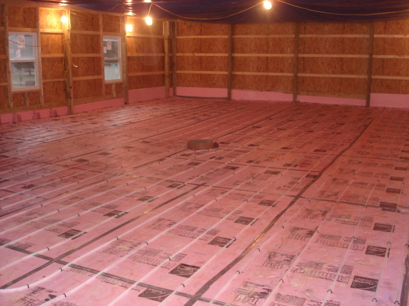 Pole Barn Slab Floor : How to pour a concrete slab for garage steel
